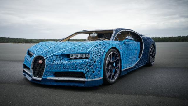 Lego Bugatti Chiron El Auto Construido Con Millones De Bloques
