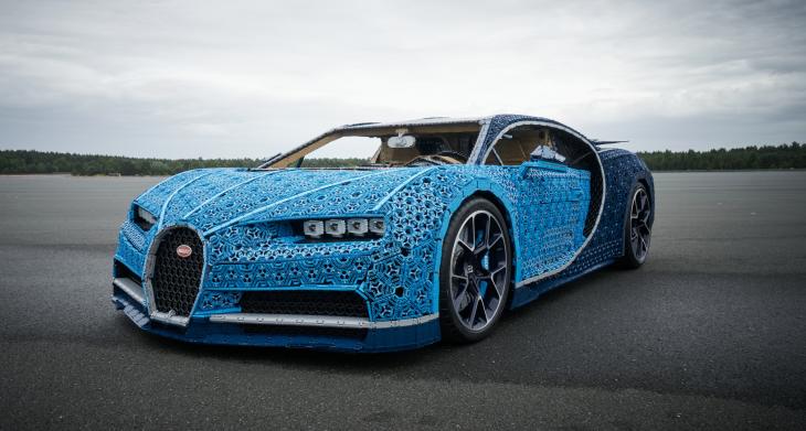 LEGO Bugatti Chiron: el auto construido con millones de bloques… que puedes conducir