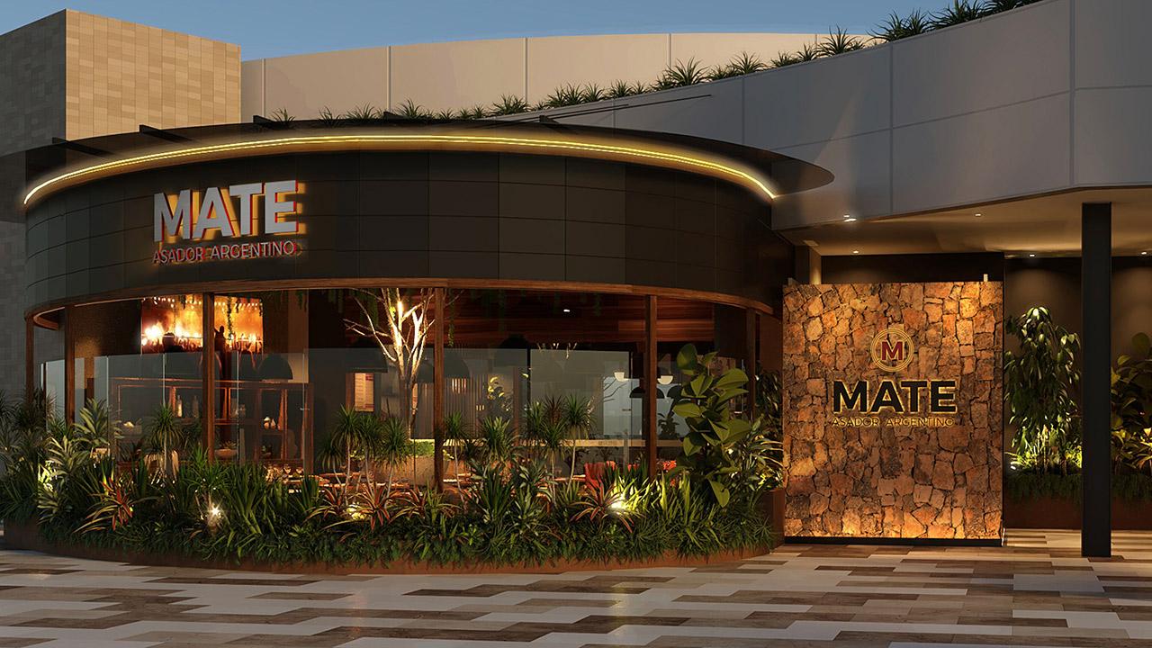 MATE, el nuevo concepto de asador argentino en México