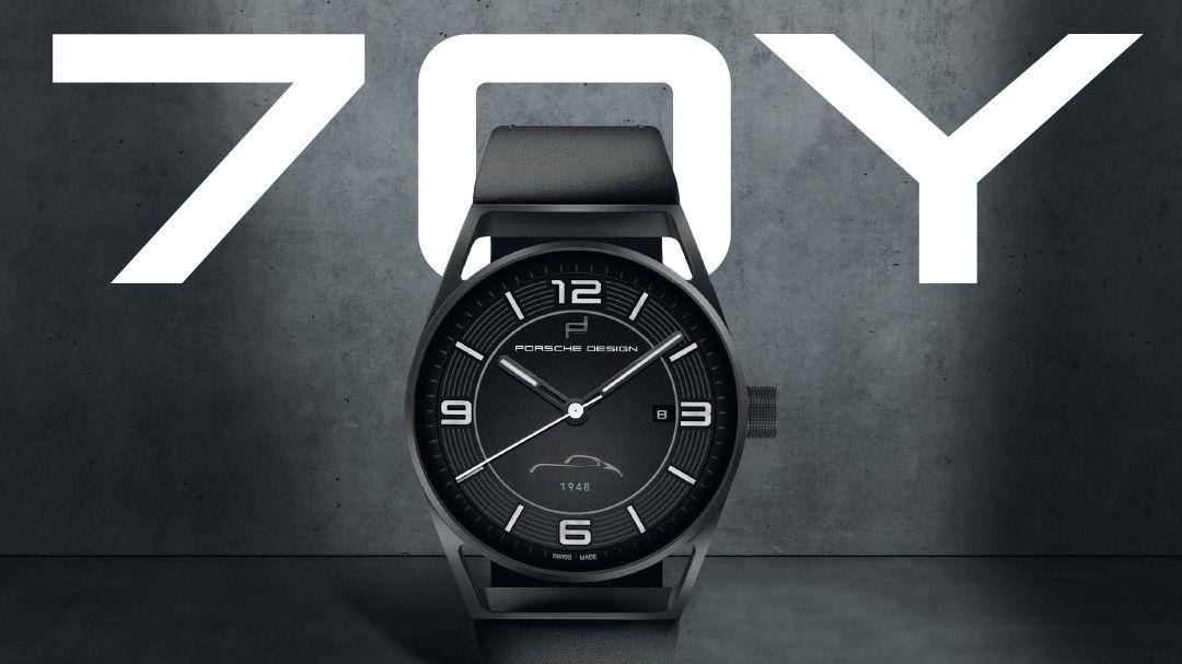 Porsche celebra su 70 aniversario lanzando un reloj conmemorativo