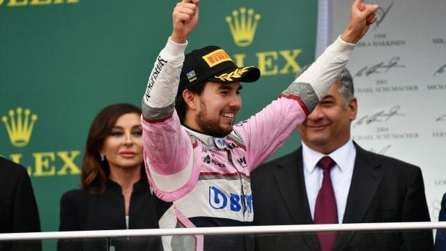 Sergio Pérez, Gran Premio de México