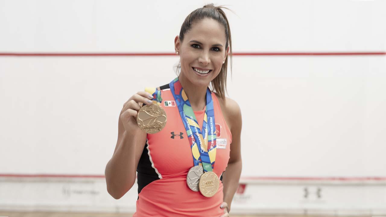 Samantha Terán, mexicana de oro en los Centroamericanos 2018