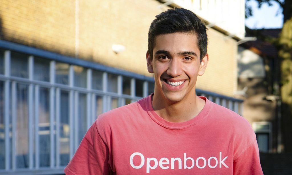 Joel Hernández, fundador de Openbook