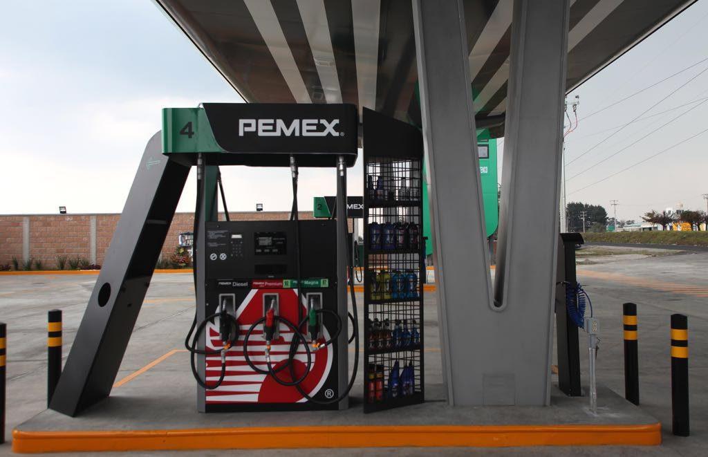 Franquicia Pemex presume nueva imagen en sus estaciones de servicio
