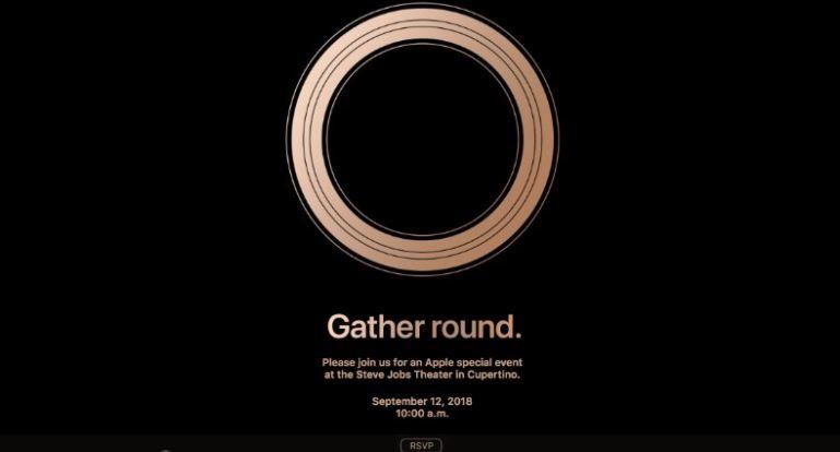 Apple presentará el 12 de septiembre sus nuevos iPhone
