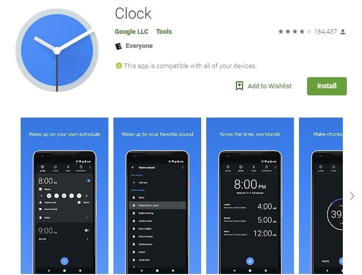 Google Clock despertará a sus usuarios al ritmo de Spotify