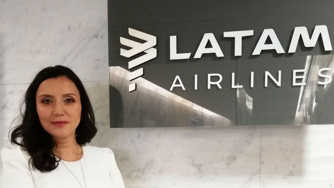 Diana Olivares, de vendedora a capitana de LATAM Airlines