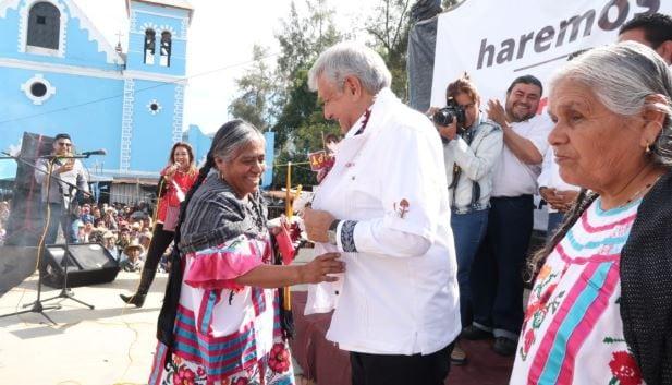 AMLO anuncia la creación del Instituto Nacional de los Pueblos Indígenas
