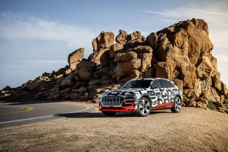 Audi presentará al e-tron, su primer auto eléctrico
