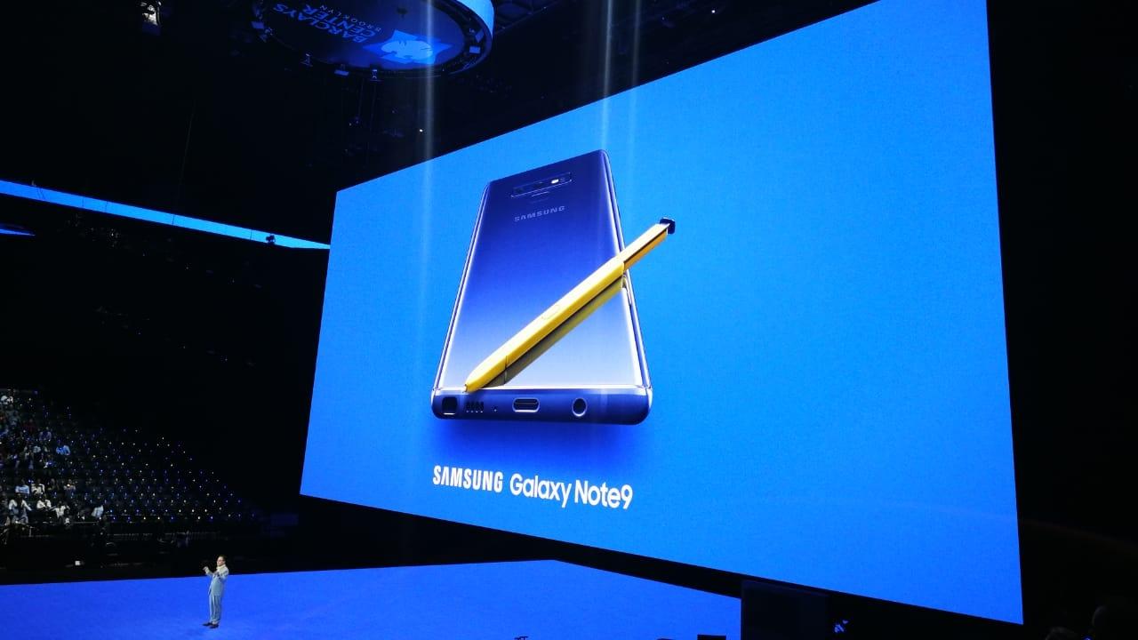 Samsung presenta al mundo su nuevo Galaxy Note 9