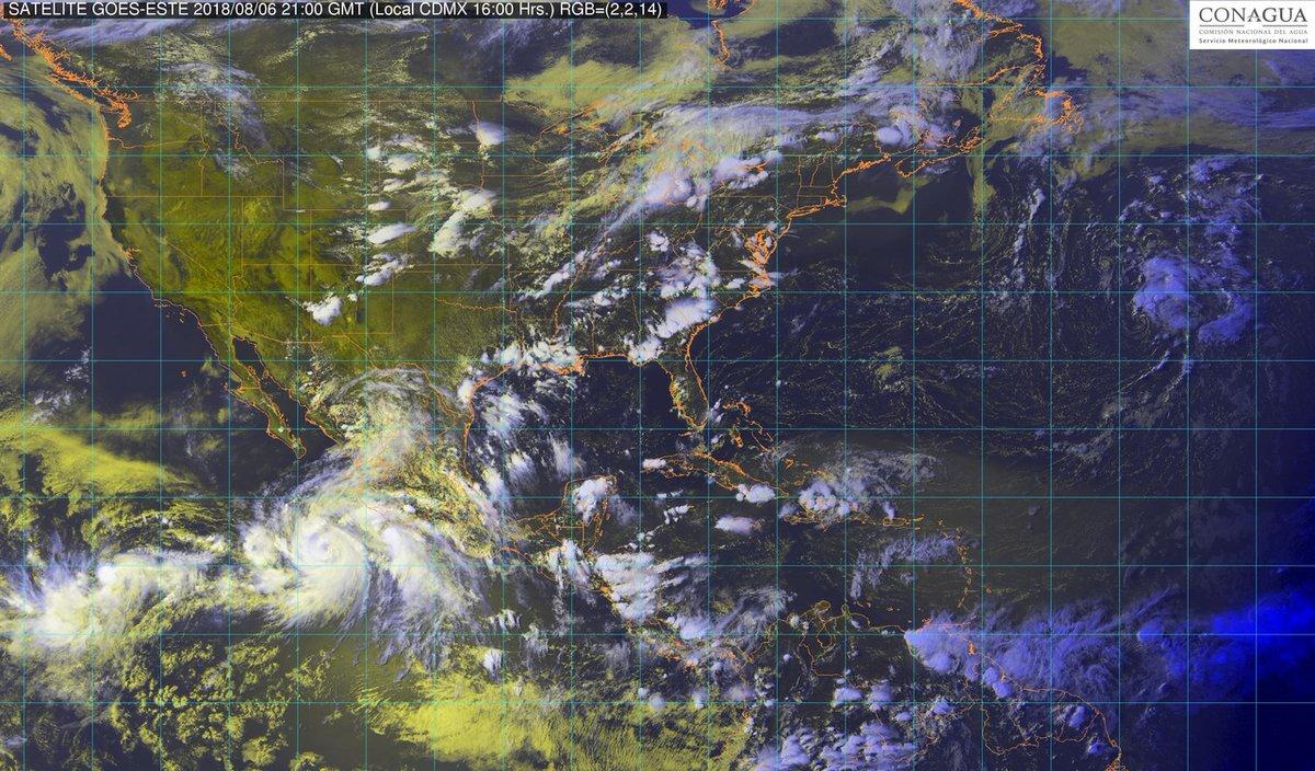 Tormenta tropical John se convierte en huracán frente a costas del Pacífico