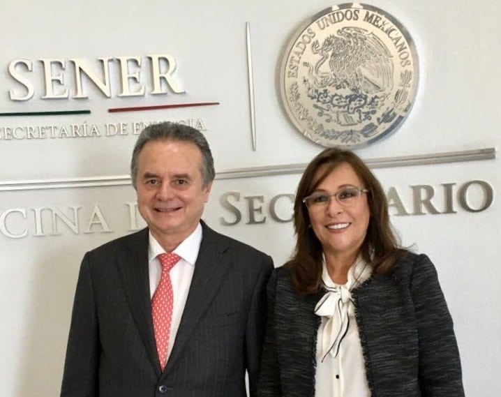 Joaquín Coldwell se reúne con Rocío Nahle, próxima titular de Sener