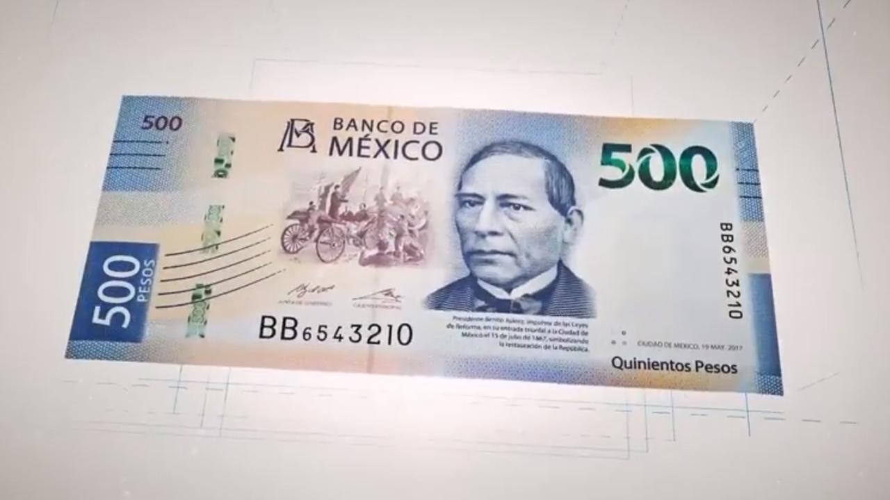 Billete de 500 pesos causa furor en Twitter