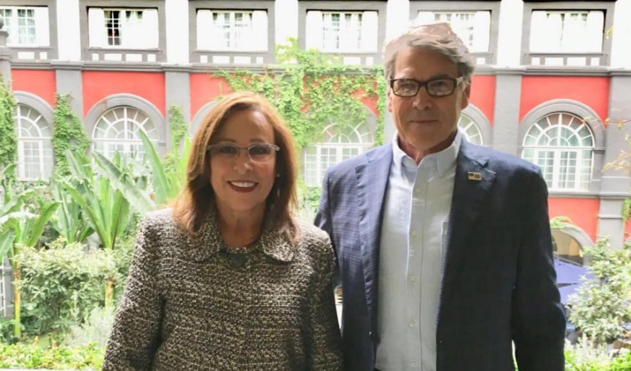 Rocío Nahle se reúne con el secretario de energía de Estados Unidos