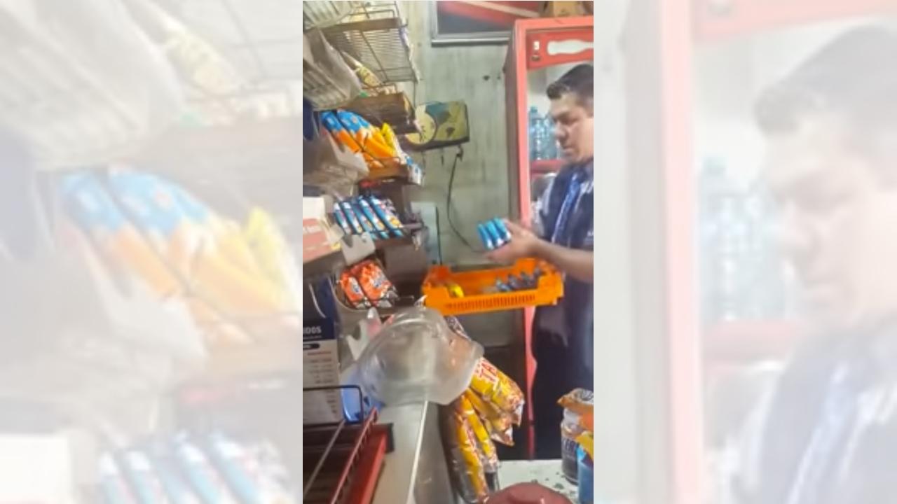 Bimbo despide a repartidor tras aparecer en video robando a tendero