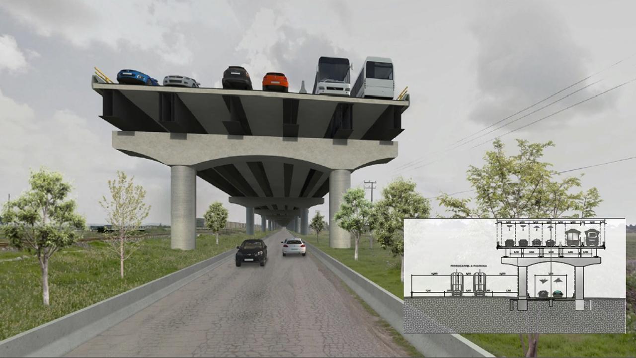 Se harán obras para conectar Santa Lucía con la CDMX e Hidalgo: AMLO
