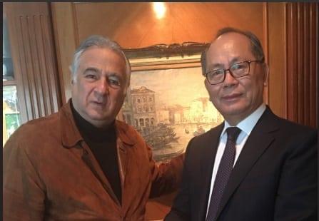 Se reúnen próximo secretario de Turismo y embajador de China