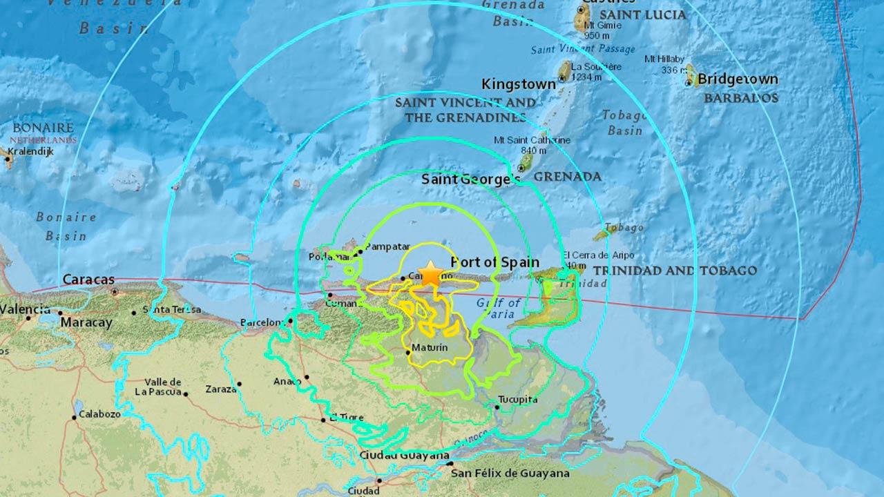 Sismo de 7.3 grados sacude costa norte de Venezuela