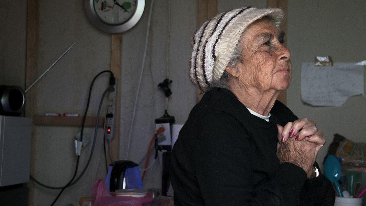 Carmen Machargo, vecina de Unidad Habitacional Tlalpan. Foto: Angélica Escobar/Forbes México.