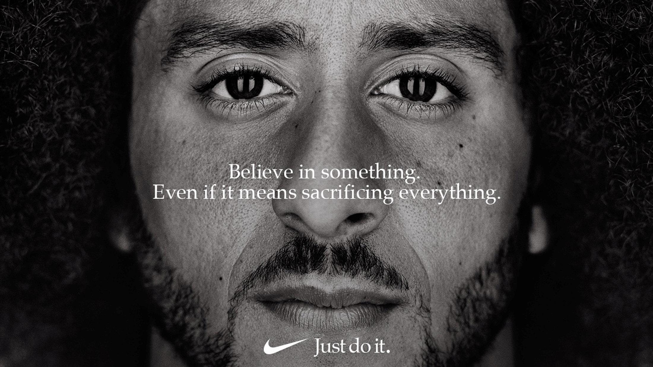 La imagen de Kaepernick arrastra a Nike en la bolsa