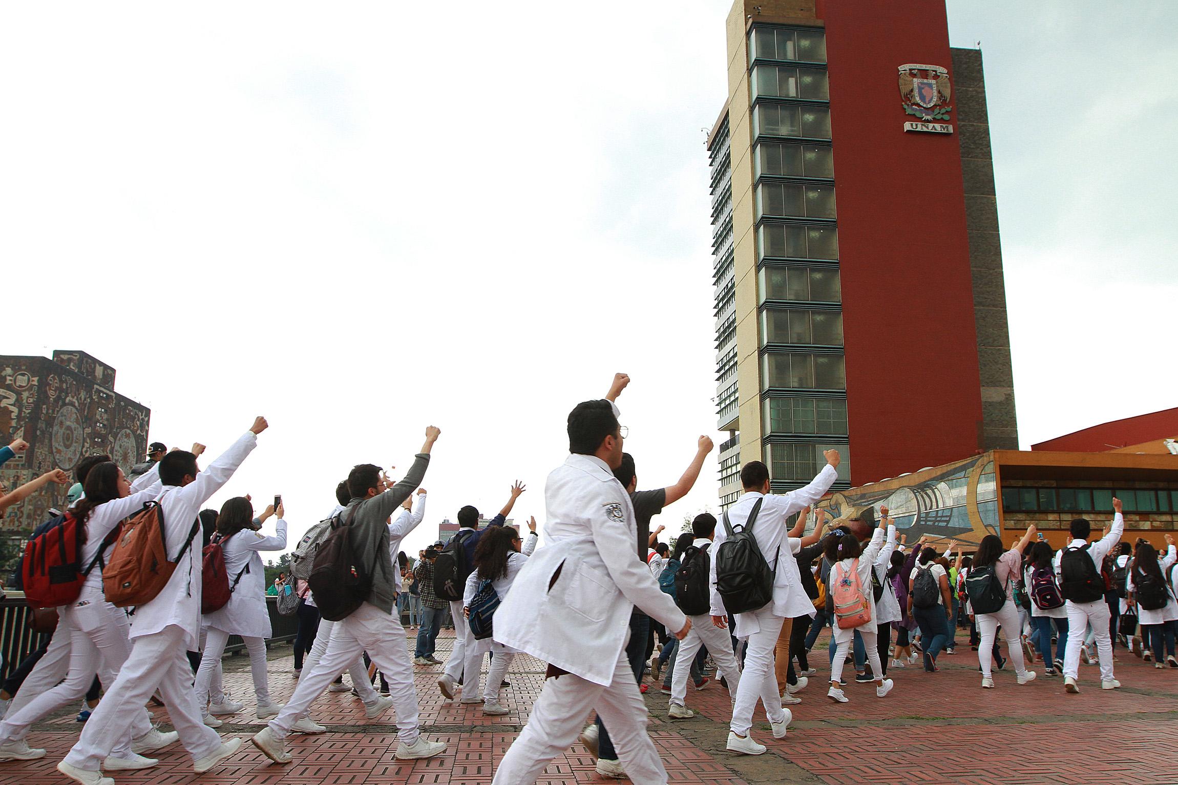 Pide UNAM explicación por liberación de presuntos involucrados en hechos violentos