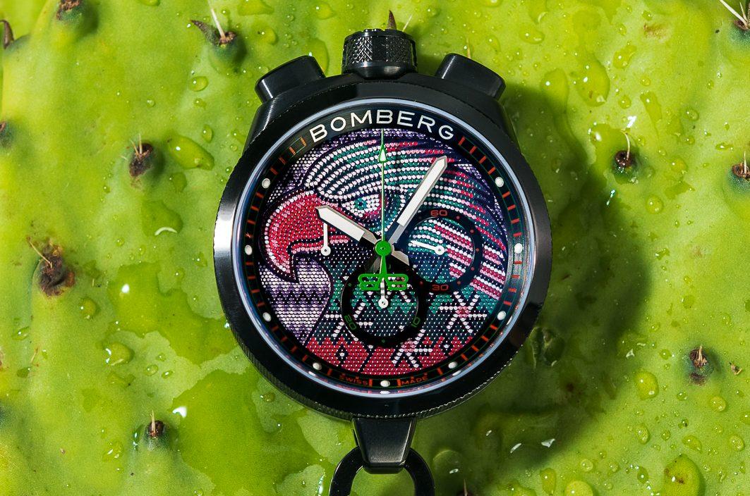 Mexican Eagle, el reloj de Bomberg inspirado en el arte huichol