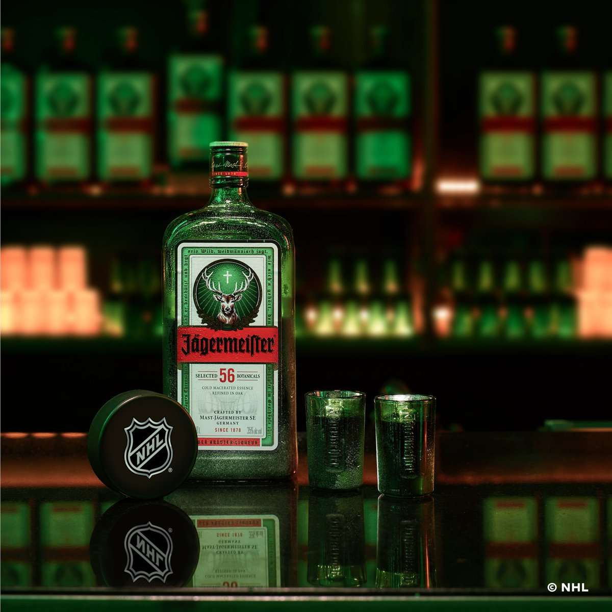 Jagermeister se convierte en el shot oficial de la National Hockey League