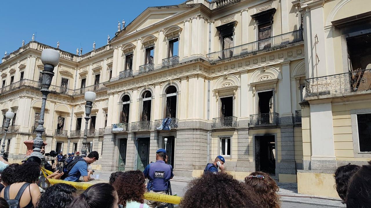 Esto es lo que el fuego devoró en el Museo Nacional de Brasil