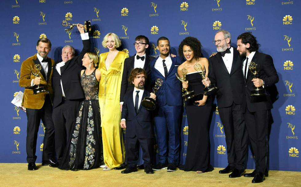 Game of Thrones muestra supremacía en los Emmy 2018