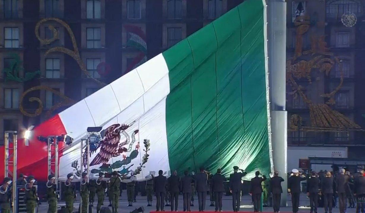 Peña Nieto encabeza ceremonia por víctimas de los sismos 19S