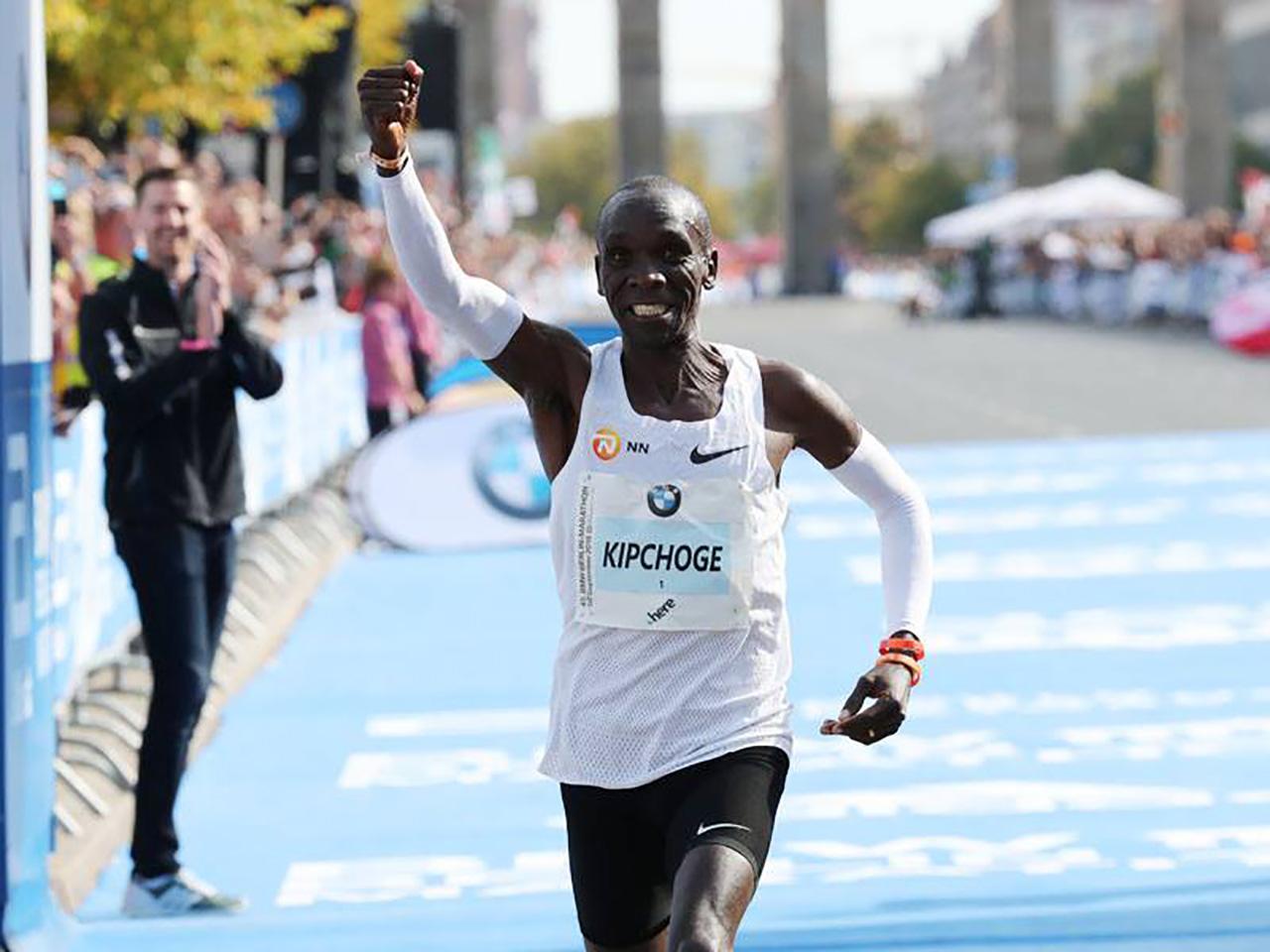 Eliud Kipchoge rompe el récord del mundo en el maratón de Berlín