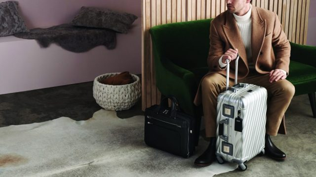 Tumi llega a México maleta