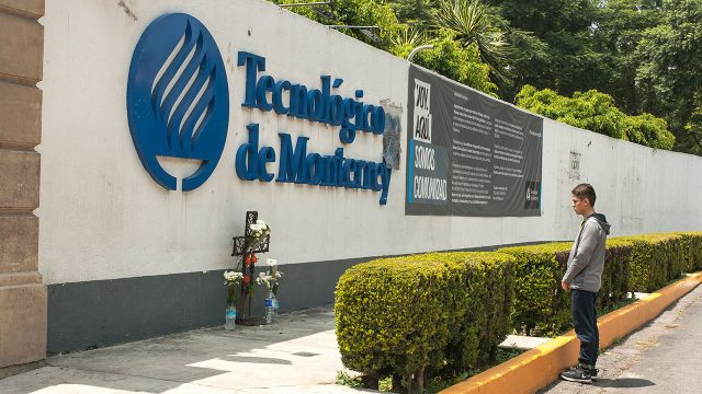 Fachada trasera del campus CDMX. Foto: Angélica Escobar / Forbes México.