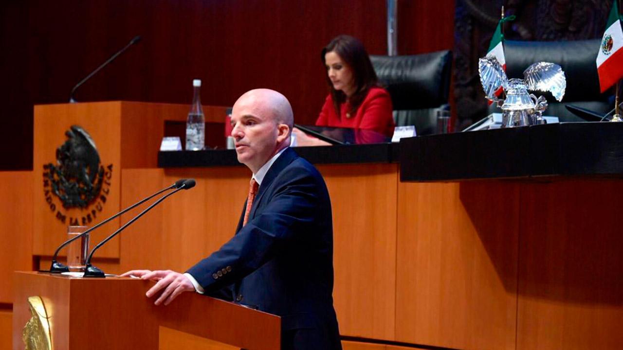 Gobierno de AMLO heredará economía resistente: González Anaya
