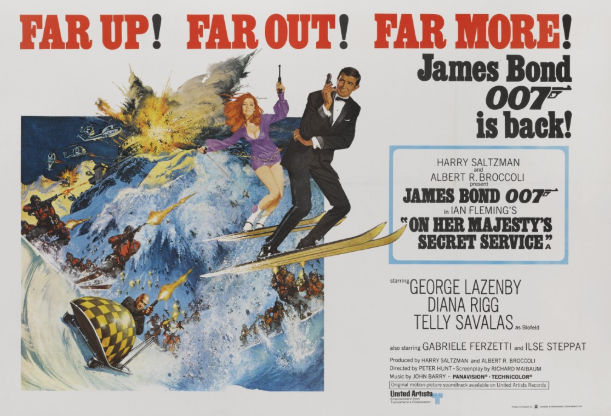 Sólo para fans: Subastan pósters originales de James Bond