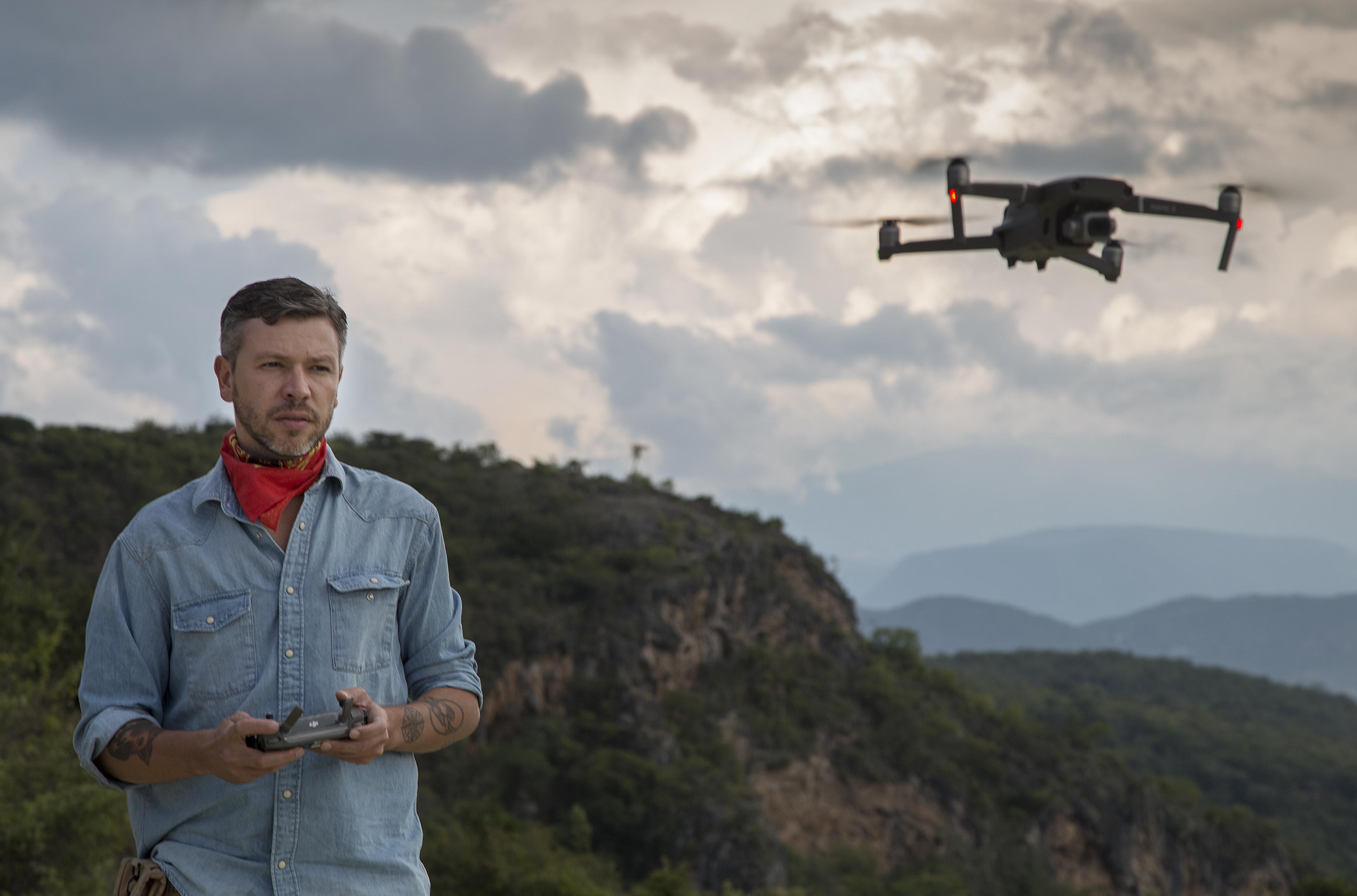 drones fotografía
