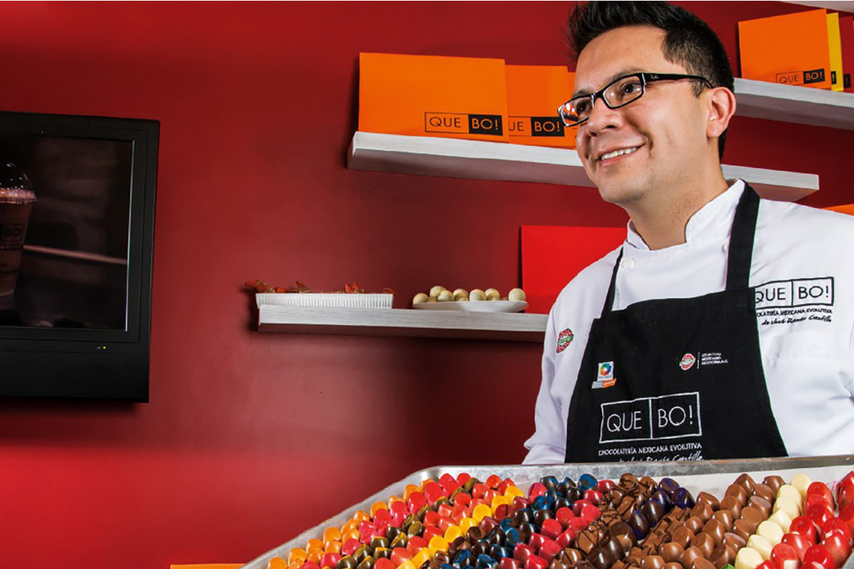 José Ramón Castillo, el chef mexicano que conquistó los International Chocolate Awards