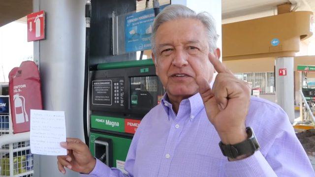 amlo precios de la gasolina
