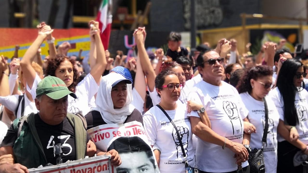 Crónica | Multifamiliar Tlalpan, epicentro de la lucha de los damnificados