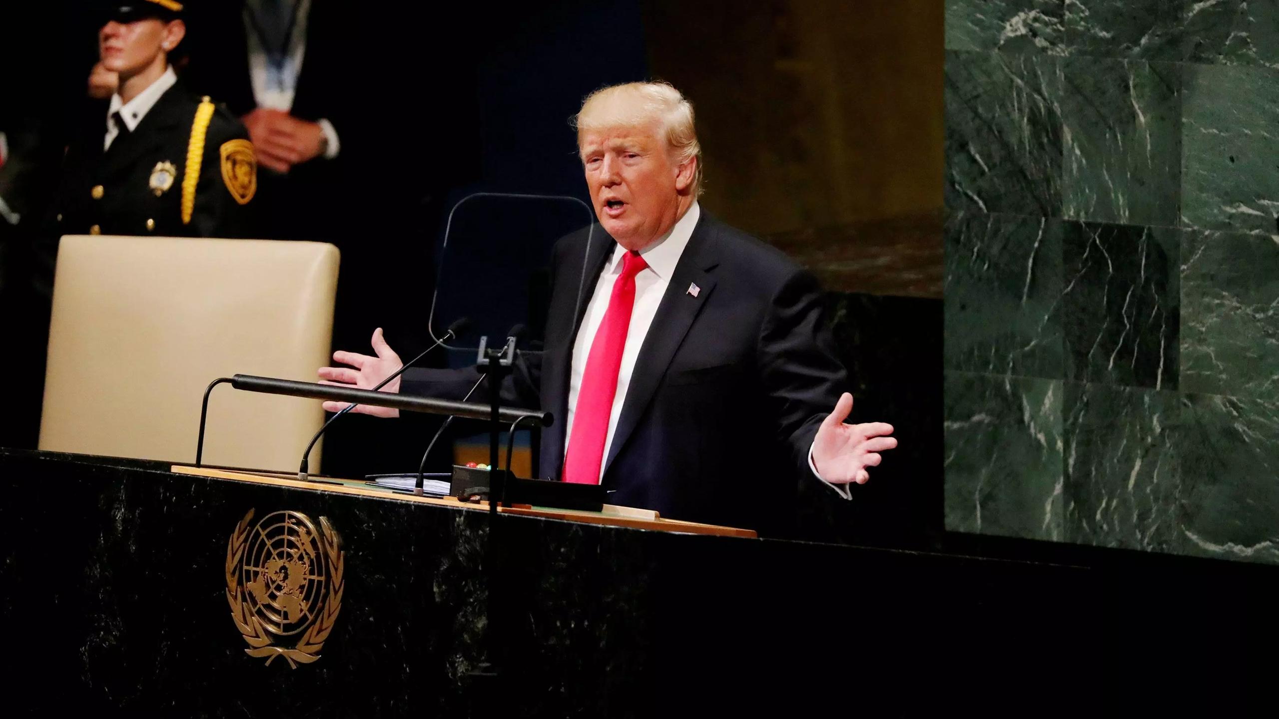 Trump y Rouhani cruzan ataques en la Asamblea General de la ONU