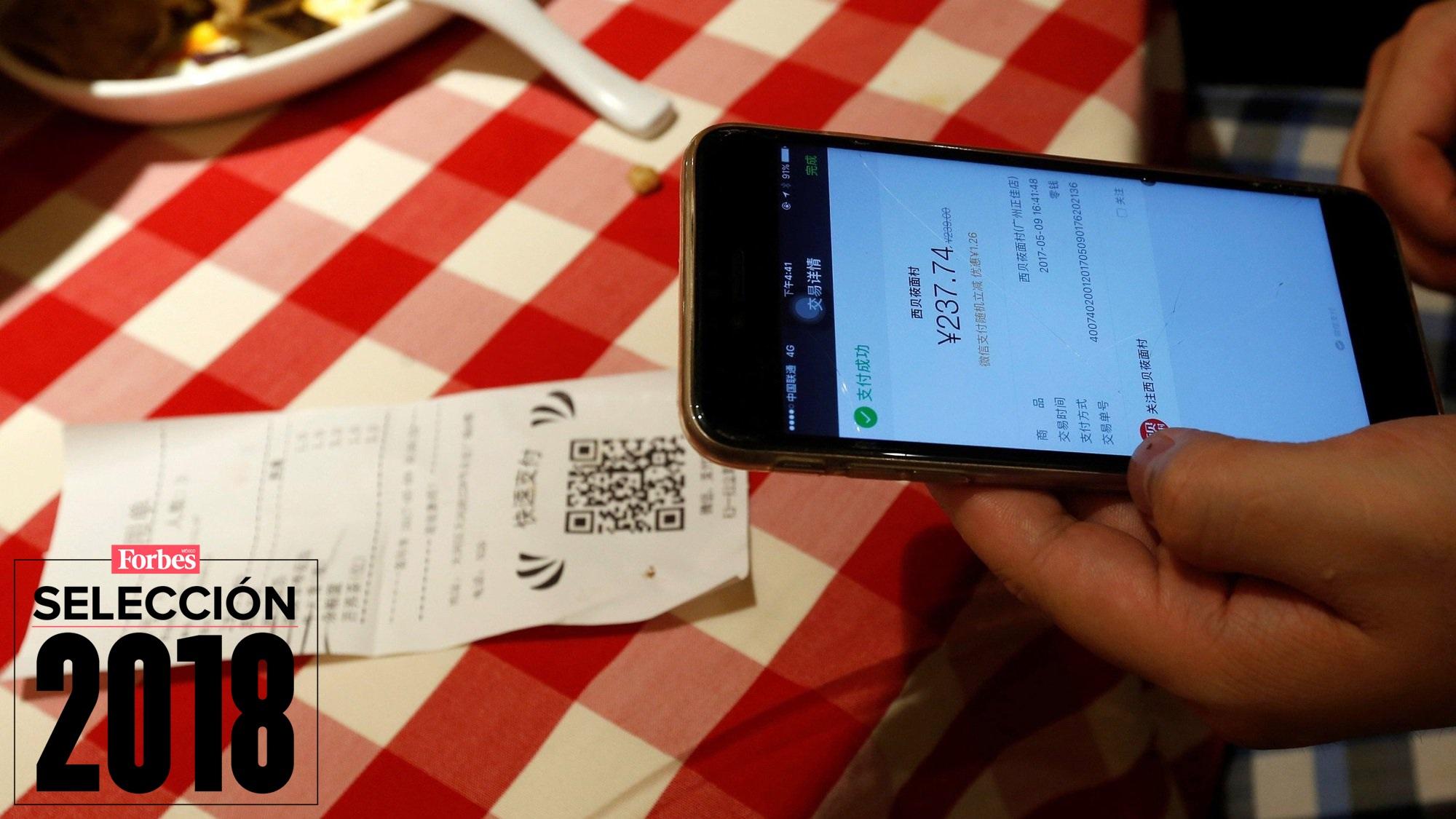 Selección 2018 | Mientras México rediseña sus billetes, China ya paga todo con el celular