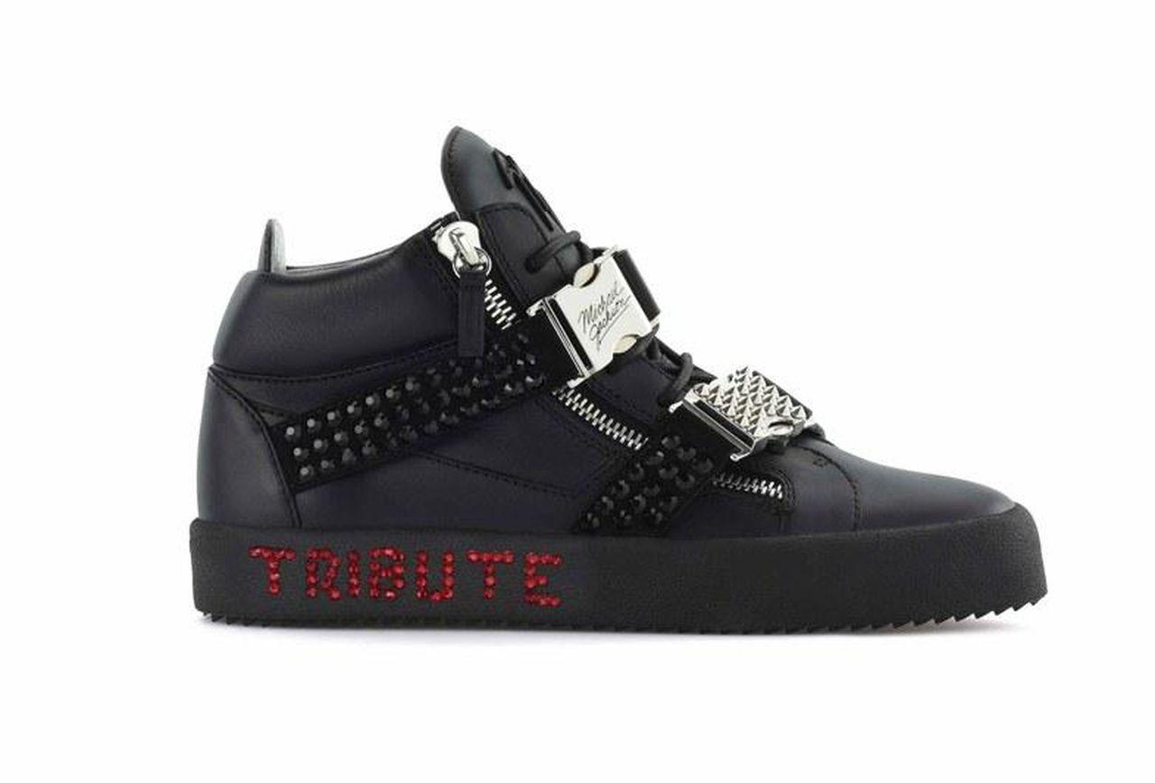 Giuseppe Zanotti crea calzado con diamantes inspirado en Michael Jackson