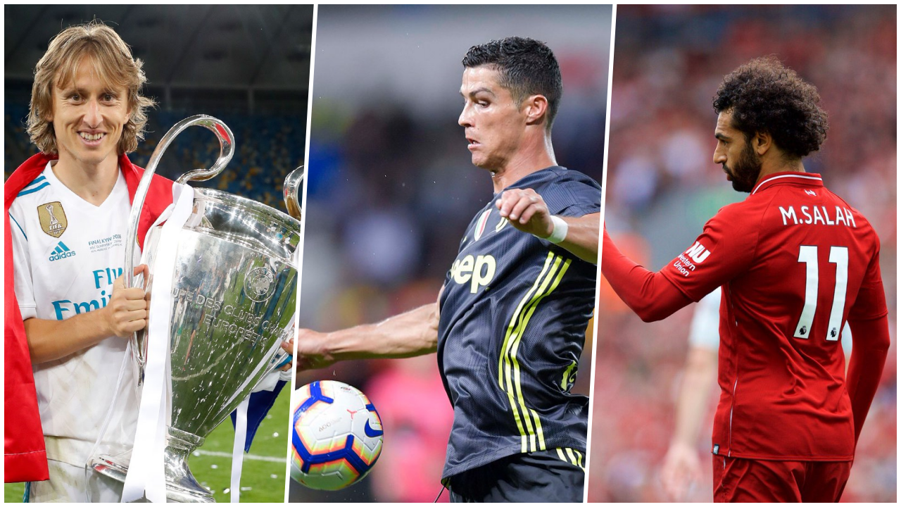 La batalla se repite: Cristiano, Modric y Salah, nominados a The Best