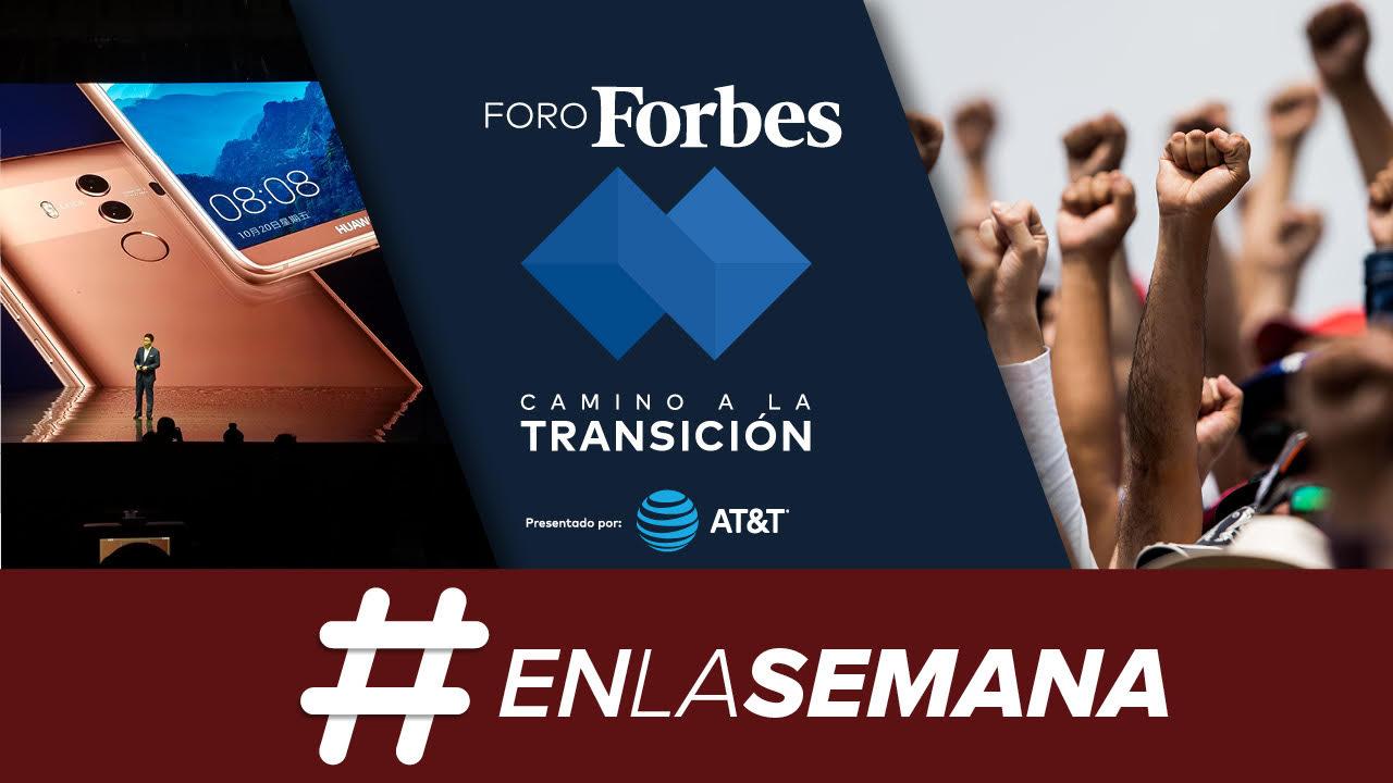 Agenda Forbes | Un foro para la transición; y las lecciones del 19S