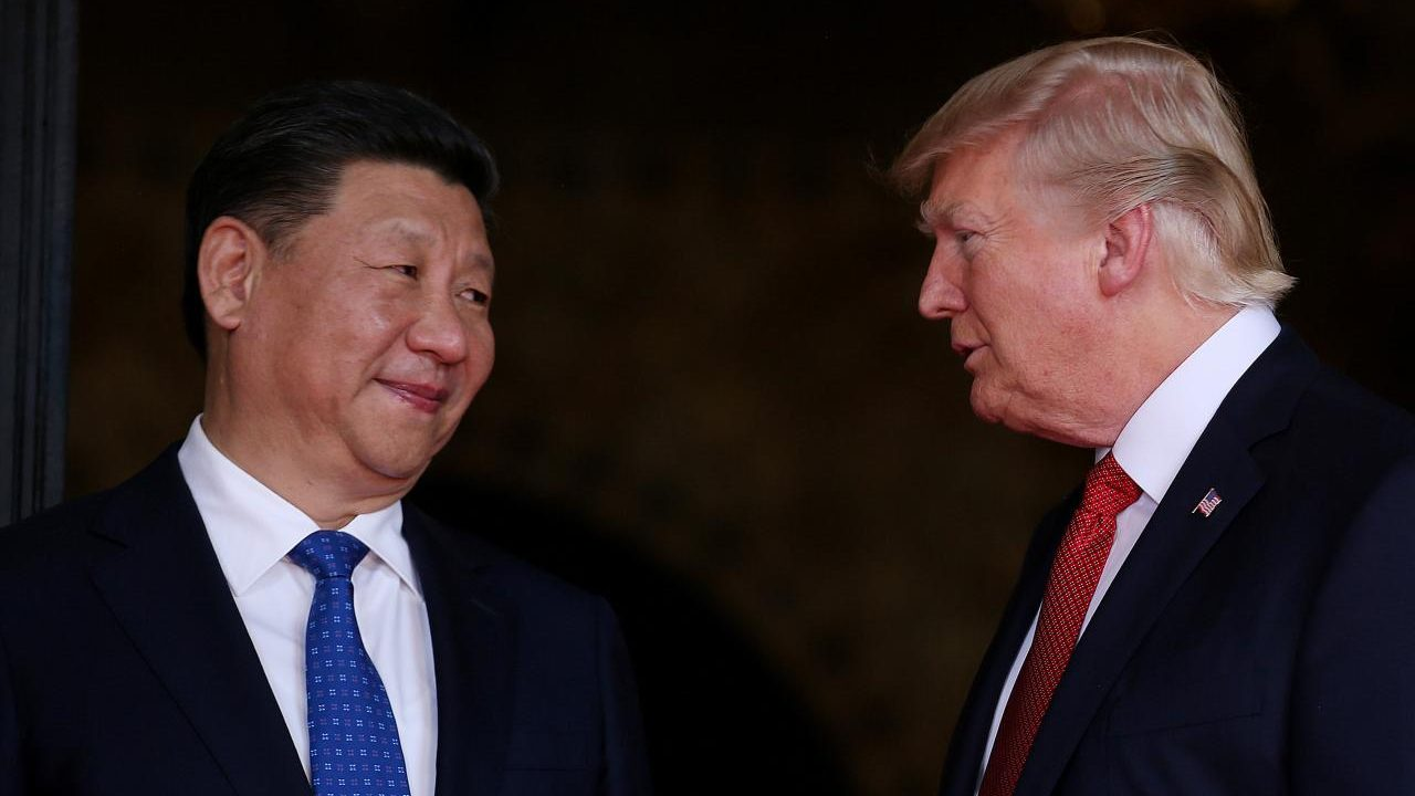 Trump presume conversaciones 'muy productivas' con China