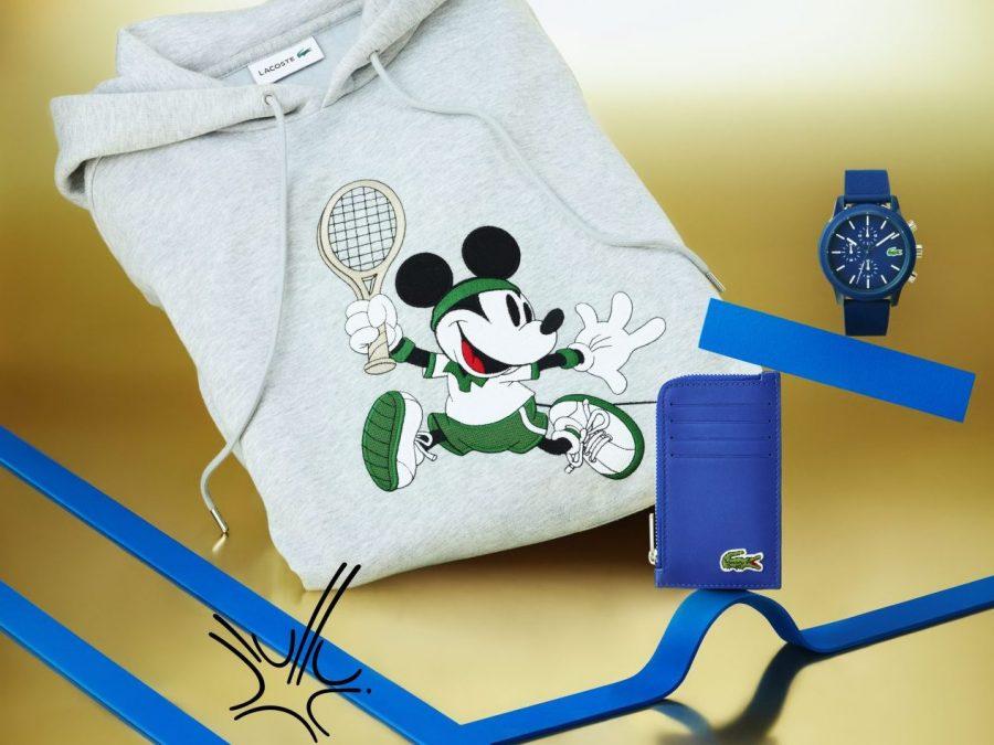 Lacoste y Disney lanzan una nostálgica colección de aniversario