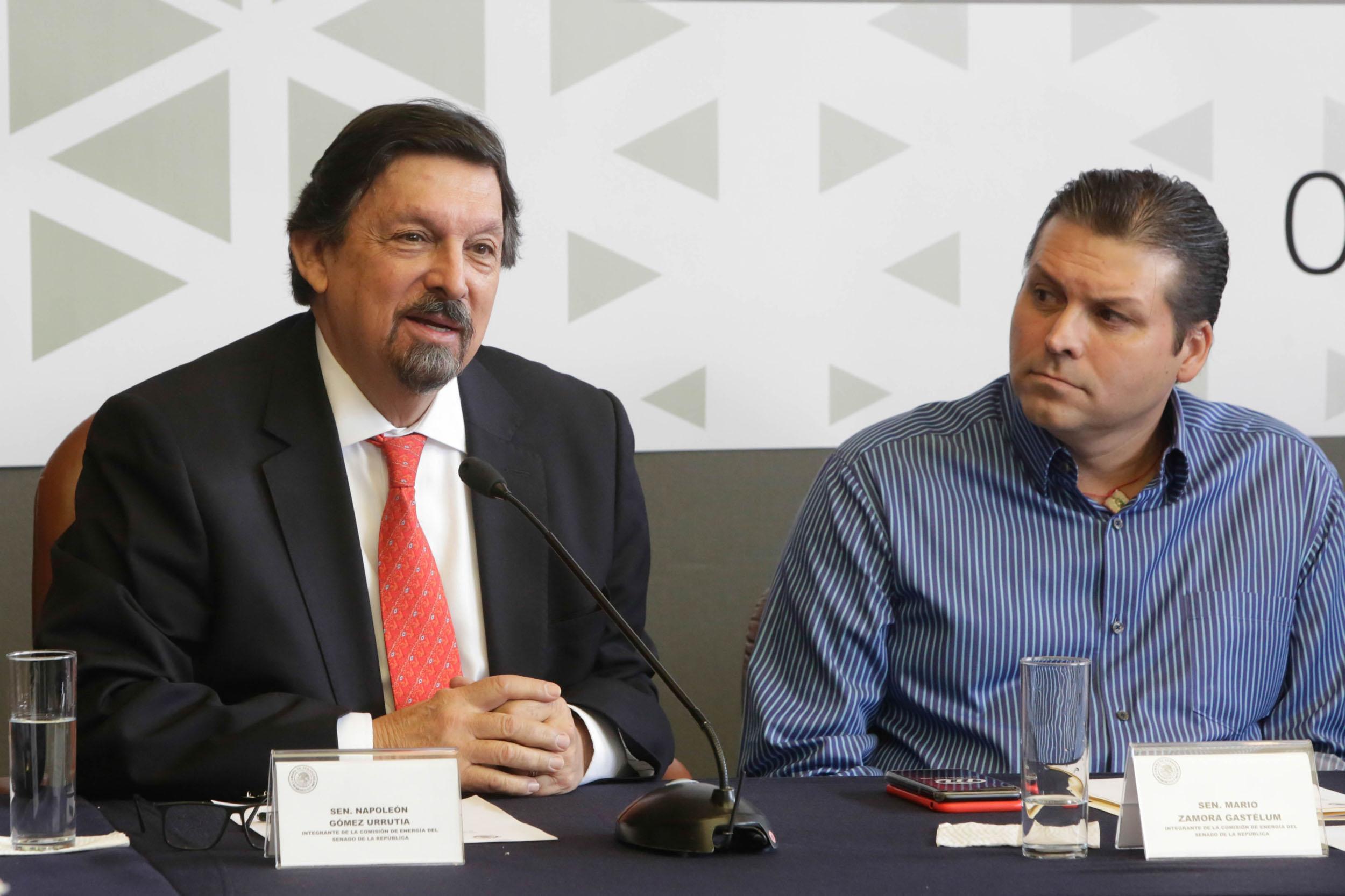 Napoleón Gómez Urrutia se integra a la Comisión de Energía del Senado