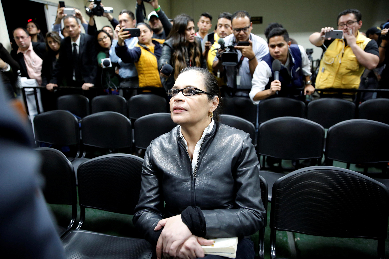 Exvicepresidenta de Guatemala es condenada a más de 15 años de cárcel