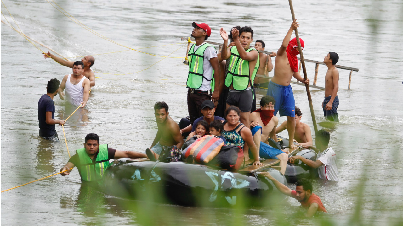 México y Honduras otorgan visas de carácter humanitario a migrantes centroamericanos
