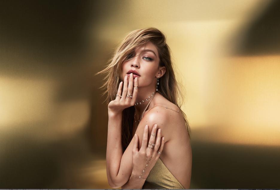 Gigi Hadid y Messika lanzan My Soul, colección de joyas con oro y diamantes